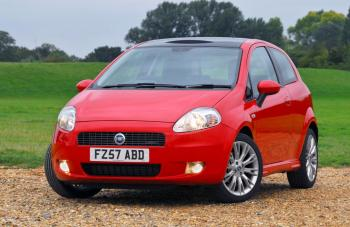 New Model Red Fiat Punto