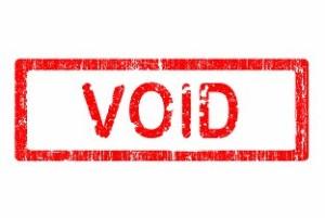 Insurance VOID